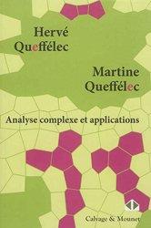 Dernières parutions dans Mathématiques en devenir, Analyse complexe et applications - Cours et exercices