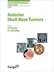 Dernières parutions sur Cancérologie, Anterior Skull Base Tumors