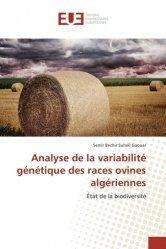 Dernières parutions sur Chèvre - Mouton, Analyse de la variabilité génétique des races ovines algériennes