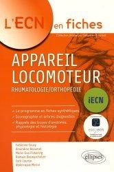 Dernières parutions dans L'ECN en fiches, Appareil locomoteur, Rhumatologie/Orthopédie