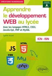 Dernières parutions sur Systèmes d'exploitation, Apprendre le développement web au lycée avec les langages html5 css3 javascript php mysql icn isn