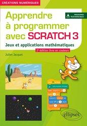 Nouvelle édition Apprendre a programmer avec scratch 3