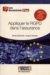 Dernières parutions dans Les essentiels, Appliquer le RGPD dans l'assurance https://fr.calameo.com/read/005370624e5ffd8627086
