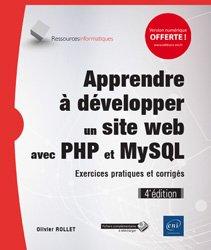 Dernières parutions sur SQL, Apprendre à développer un site web avec PHP et MySQL