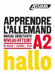 Dernières parutions dans Objectif langues, Apprendre l'Allemand - Hallo - Débutants et Faux-débutants