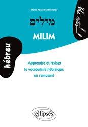 Dernières parutions sur Auto apprentissage, Milim