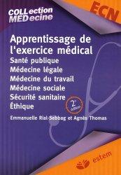 Dernières parutions sur Cours ECN / iECN, Apprentissage de l'exercice médical