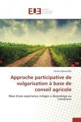 Dernières parutions sur Comptabilité - Législation, Approche participative de vulgarisation à base de conseil agricole