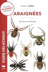 Dernières parutions sur Entomologie, Araignées de France et d'Europe