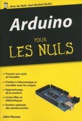 Souvent acheté avec Arduino pour la domotique, le Arduino pour les Nuls poche