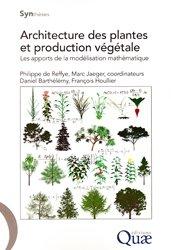 Souvent acheté avec Stratégie QD, le Architecture des plantes et production végétale