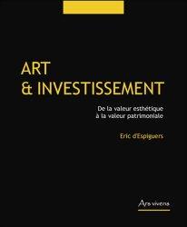 Dernières parutions dans Art management, Art et investissement