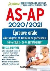 Dernières parutions dans Je prépare, AS-AP - Epreuve orale 2020-2021