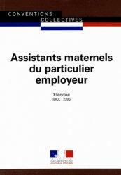 Souvent acheté avec Guide de l'assistant maternel, le Assistants maternels du particulier employeur