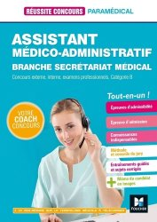 Dernières parutions dans Réussite Concours, Assistant médico-administratif  Branche Secrétariat médical