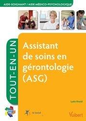 Souvent acheté avec La maladie d'Alzheimer Cahier d'activités 1, le Assistant de soins en gérontologie (ASG)