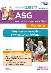Dernières parutions sur Gérontologie, Assistant de soins en gérontologie (ASG)