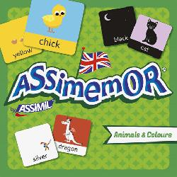 Dernières parutions sur Jeux, Assimemor Animals and Colours - Animaux et Couleurs