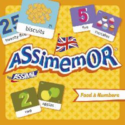 Dernières parutions sur Jeux, Assimemor Food and Numbers - Aliments et Nombres