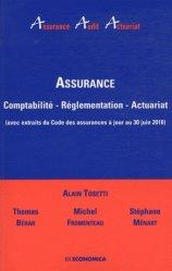 Dernières parutions dans Assurance Audit Actuariat, Assurance. Comptabilité, réglementation, actuariat (avec extraits du Code des assurances à jour au 30 juin 2010)