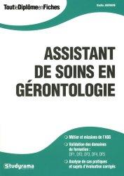 Dernières parutions dans Tout le Diplôme en Fiches, Assistant de soins en gérontologie