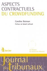 Dernières parutions sur Droit des obligations, Aspects contractuels du crowdfunding
