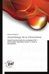 Dernières parutions sur Génétique, Assemblage de la Chromatine