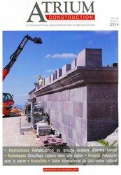 Nouvelle édition Atrium construction 65