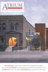 Dernières parutions sur Habitat traditionnel - Rénovation, Atrium construction Automne 2015