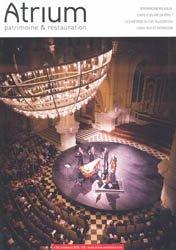 Dernières parutions sur Conservation du patrimoine, Atrium Patrimoine et restauration 79