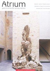 Dernières parutions sur Architecture en France et en région, Atrium patrimoine et restauration