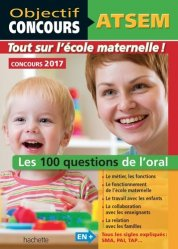 Souvent acheté avec Méga Guide - Concours ATSEM, le ATSEM - 100 questions/réponses pour l'oral 2017