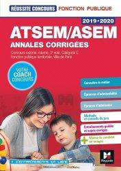 Souvent acheté avec CAP Accompagnant éducatif Petite enfance 2020-2021, le ATSEM-ASEM annales corrigées - 2019-2020