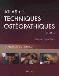 Dernières parutions sur Ostéopathie, Atlas des techniques ostéopathiques