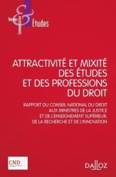 Dernières parutions sur Histoire du droit, Attractivité et mixité des études et des professions du droit