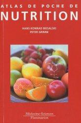 Souvent acheté avec Pneumologie, le Atlas de poche de Nutrition