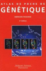 Souvent acheté avec Iatrogénie et Toxicologie en Urgence, le Atlas de poche de génétique