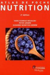 Dernières parutions dans Atlas de poche, Atlas de poche de nutrition