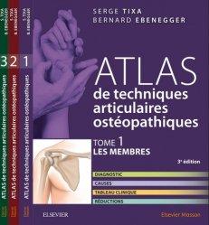 Souvent acheté avec Pédiatrie, le Atlas de techniques articulaires ostéopathiques T1 à T3