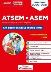 Dernières parutions sur Atsem - Assistante maternelle, ATSEM ASEM - 170 questions pour réussir l'oral