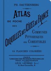 Dernières parutions sur Invertébrés d'eau douce, Atlas de poche des coquilles des côtes de France