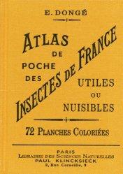 Dernières parutions sur Guides d'identification, Atlas de poche des insectes de France utiles ou nuisibles