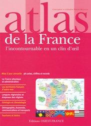 Souvent acheté avec Atlas des vignobles de France, le Atlas de la France