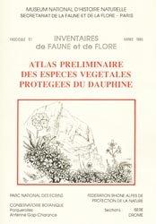 Dernières parutions dans Inventaires de faune et flore, Atlas préliminaire des espèces végétales protégées du Dauphiné