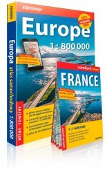 Dernières parutions sur Atlas routiers monde, Atlas routier Europe. 1/800 000. Avec une carte de France 1/1 600 000 offerte, Edition 2019-2020