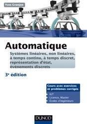 Souvent acheté avec Résistance des matériaux, le Automatique -3e ed. Systèmes linéaires, non linéaires - Cours et exercices corrigés