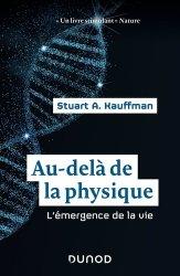 Dernières parutions sur Sciences de la Vie, Au-delà de la physique