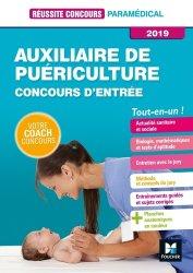 Nouvelle édition Auxiliaire de puériculture -Concours d'entrée 2019