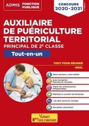 Dernières parutions sur Concours d'entrée AS - AP, Auxiliaire de puériculture territorial - Catégorie C