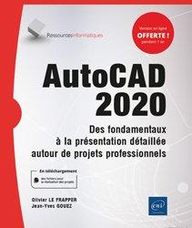 Dernières parutions dans Ressources informatiques, AutoCAD 2020